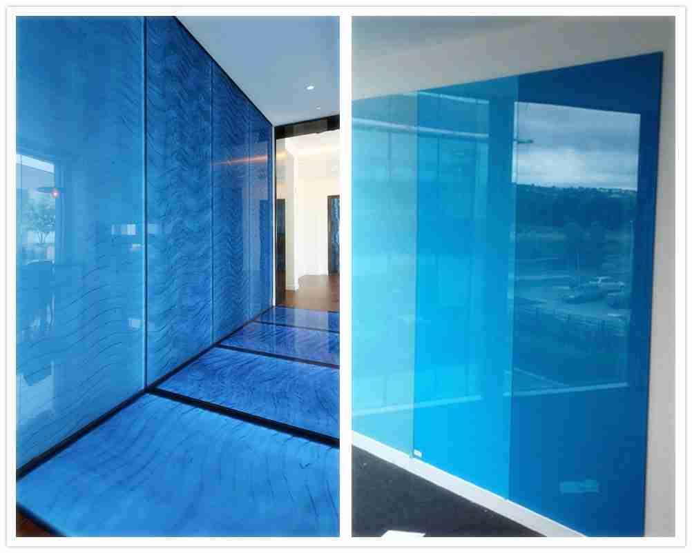 Dunkelblaue Farbe VS hellblaue Farbdesigns. Welches gefällt Ihnen?