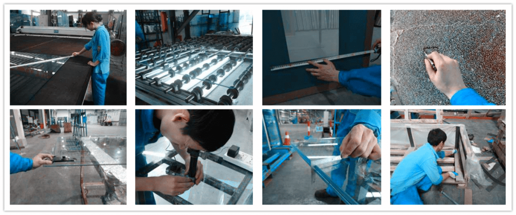 Strenges Qualitätskontrollsystem