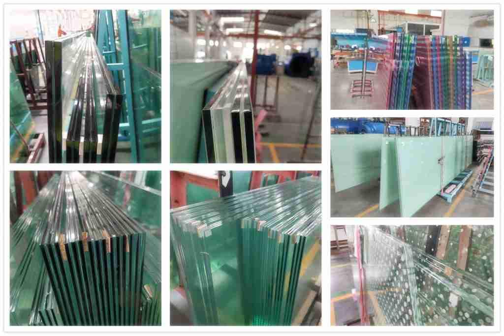 جميع أنواع المنتجات الزجاجية مغلفة من شنتشن زجاج التنين.