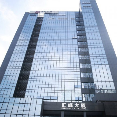 low e insulated glass curtain wall